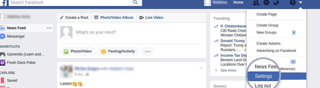 Facebook Login Games